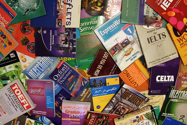 books of learning english books