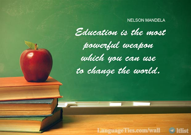 Education Is the Most Powerful