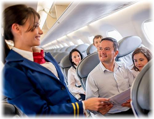 flight attendant - مهماندار هواپیما