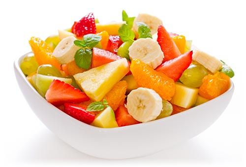 fruit salad - سالاد میوه