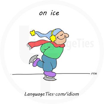 on ice - روی هواست