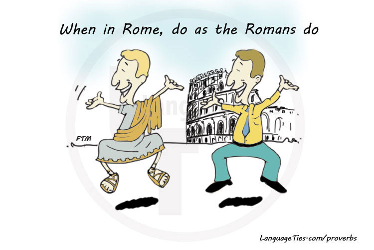 when in rome do as the romans do essays