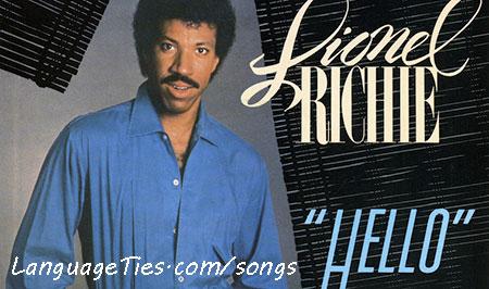 Hello - Lionel Richi